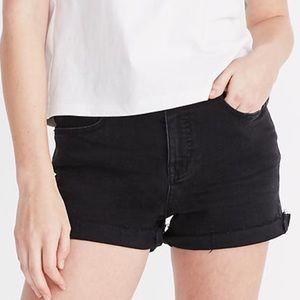 Madewell high rise denim shorts 25